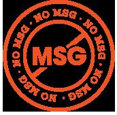 BIBIBOP has no MSG