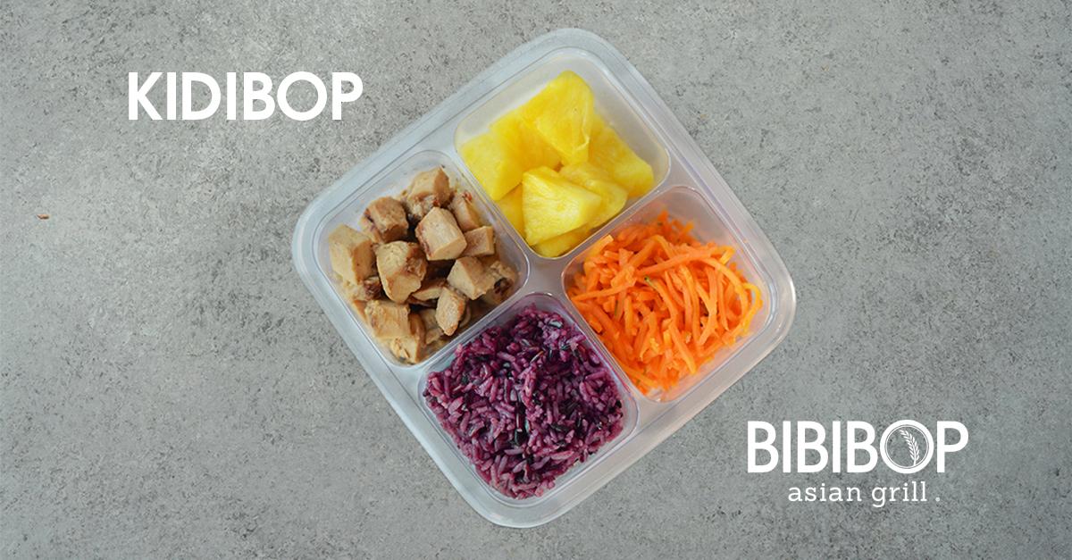 Kidibop meal